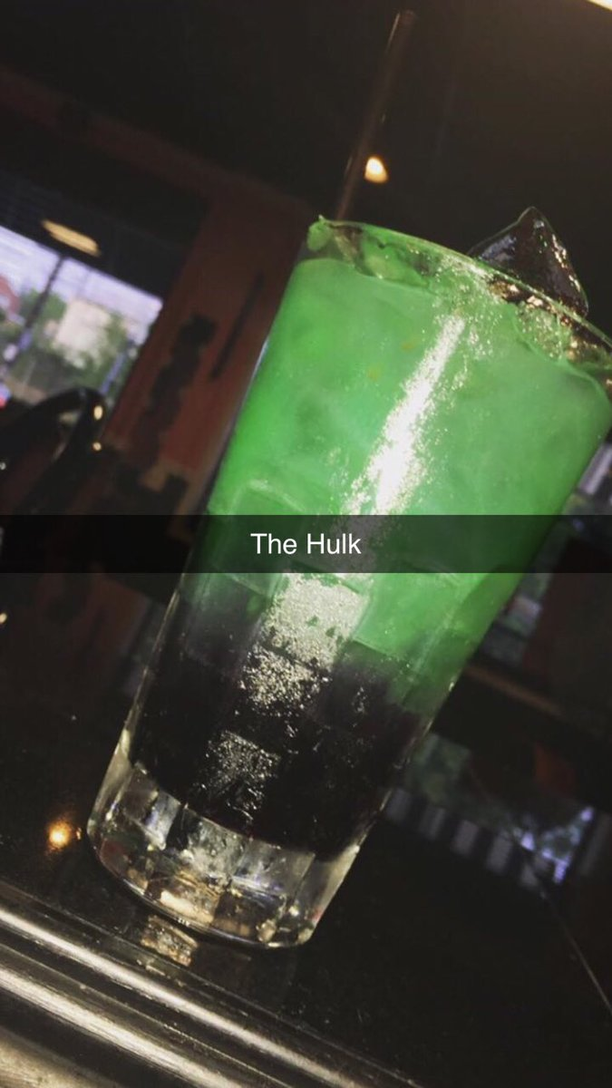 Might just turn into one #hulk  #happyhour <br>http://pic.twitter.com/iNf29Baeqz