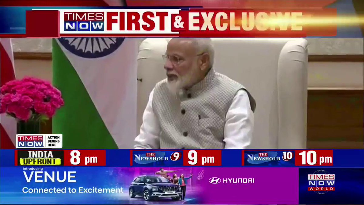 #Breaking   VIDEO: US Secretary of State Mike Pompeo (@SecPompeo) meets PM @NarendraModi.   #AtharKhan with details.   #IndoUSTies
