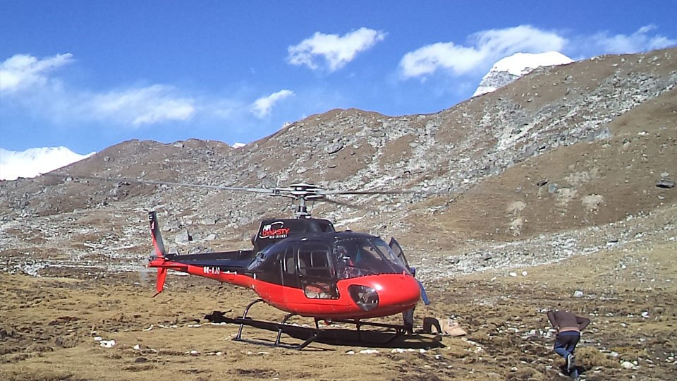 Everest Base Camp Helicopter Trek  is the optional EBC trekking package returning by helicopter ride from Gorakshep.  https://www.nepaltrekking.com/trip/everest-base-camp-trek-with-helicopter-return/ … #nepal #mounteverest #everestbasecamptrek #everestbasecamphelireturentrek #helicopter #returning #package #scenicmountainviews #trekking