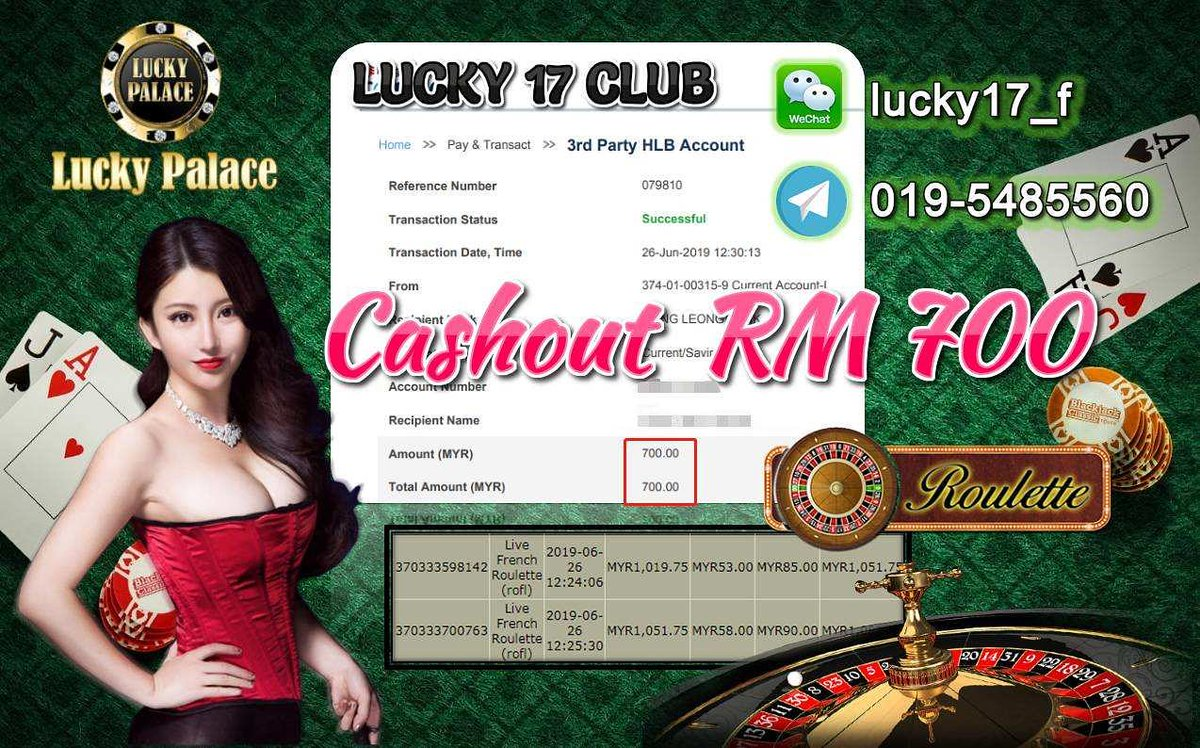 Game Lucky Palace Main Live Roulette Senang Senang Cuci
