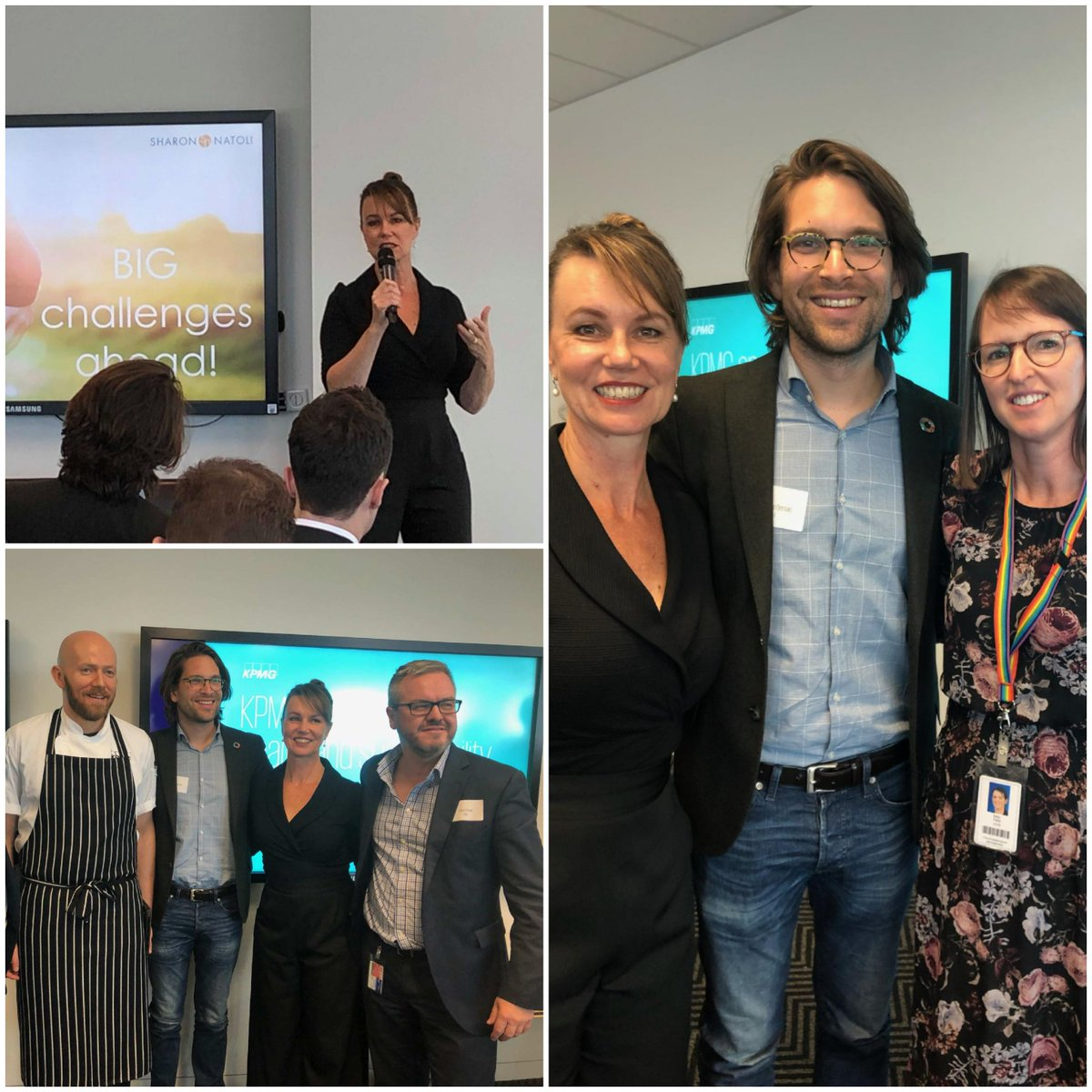 Grateful for the opportunity to present alongside @SandroDemaio to a group of business leaders today @KPMG  on the challenges that lie ahead for the health of people & the planet & the role food businesses can play in driving change toward a better future. #KPMGEAT #FutureofFood