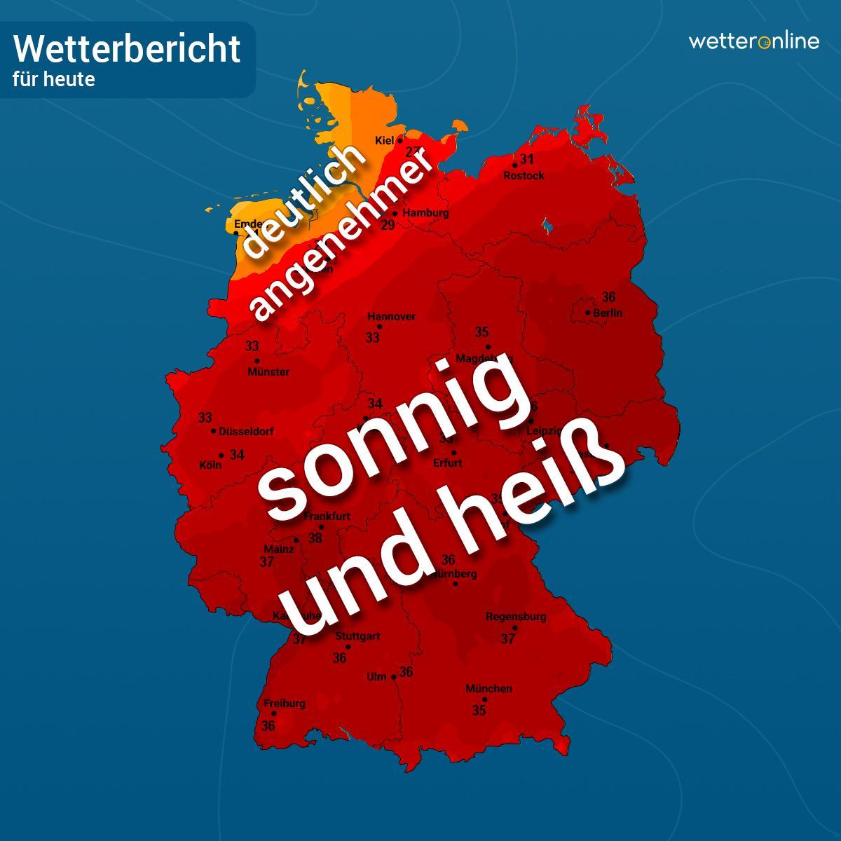 Wetteronlinede On Twitter Guten Morgen Halbwegs Schlafen