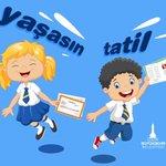 Image for the Tweet beginning: Sevgili çocuklar, bugün hepiniz karnelerinizi