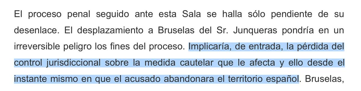 """Marchena no vol que Junqueras sigui eurodiputat, i deixa clar per què: per no perdre """"el control"""" sobre l'ostatge. #DretPenaldelEnemic"""