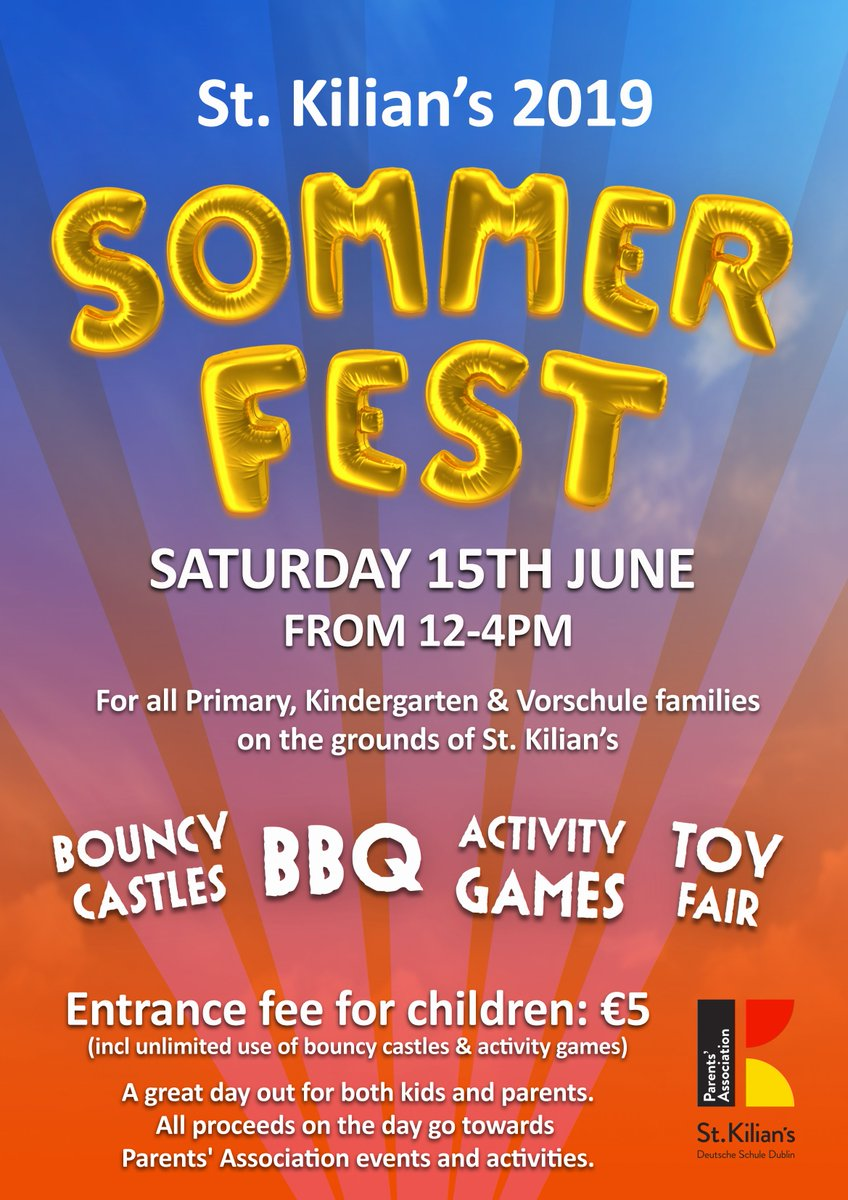 test Twitter Media - Bouncy castles, Bratwurst and much more will be offered at tomorrow's Primary School #Sommerfest! Come and join us for a fun day here in the school. https://t.co/63HhwqMItj