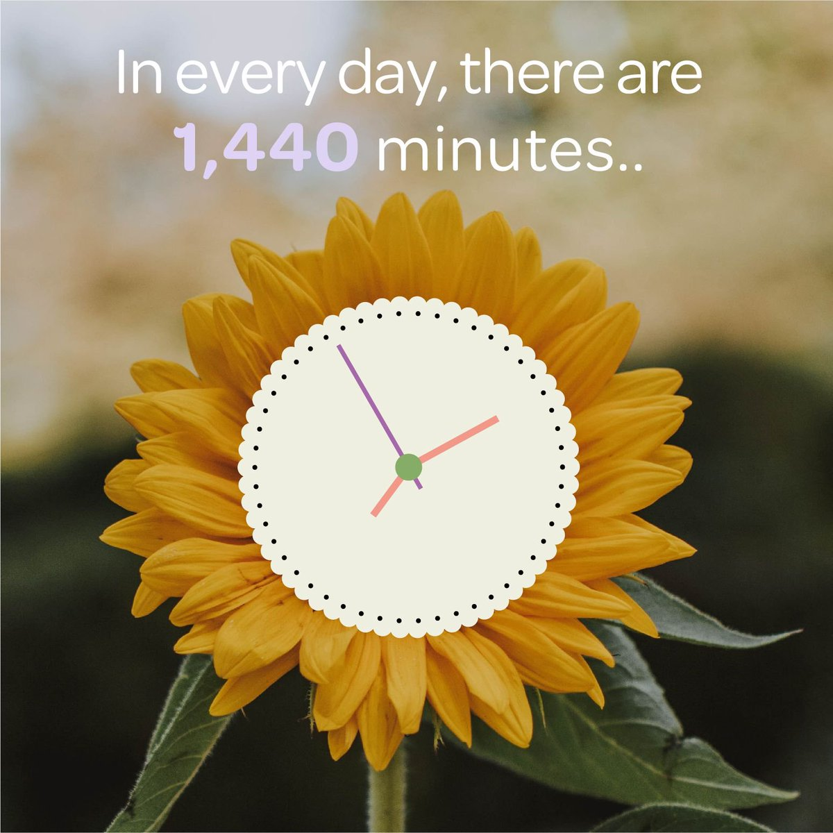 """""""In every day, there are 1,440 minutes, that means we have 1,440 daily opportunities to make a positive impact."""" - Les Brown #shinethroughtherain #shine #foundation #newmarket #canada #north #charity #nonprofit #illness #funding #donations #help #patients #health #sickness"""