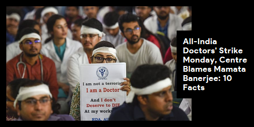 Lead story now on http://ndtv.com Doctors across the country will boycott work on Monday to express solidarity with their Bengal counterparts https://www.ndtv.com/india-news/west-bengal-doctors-protest-spreads-health-services-hit-in-delhi-mumbai-hyderabad-2053030…#NDTVLeadStory #DoctorStrike #IMA