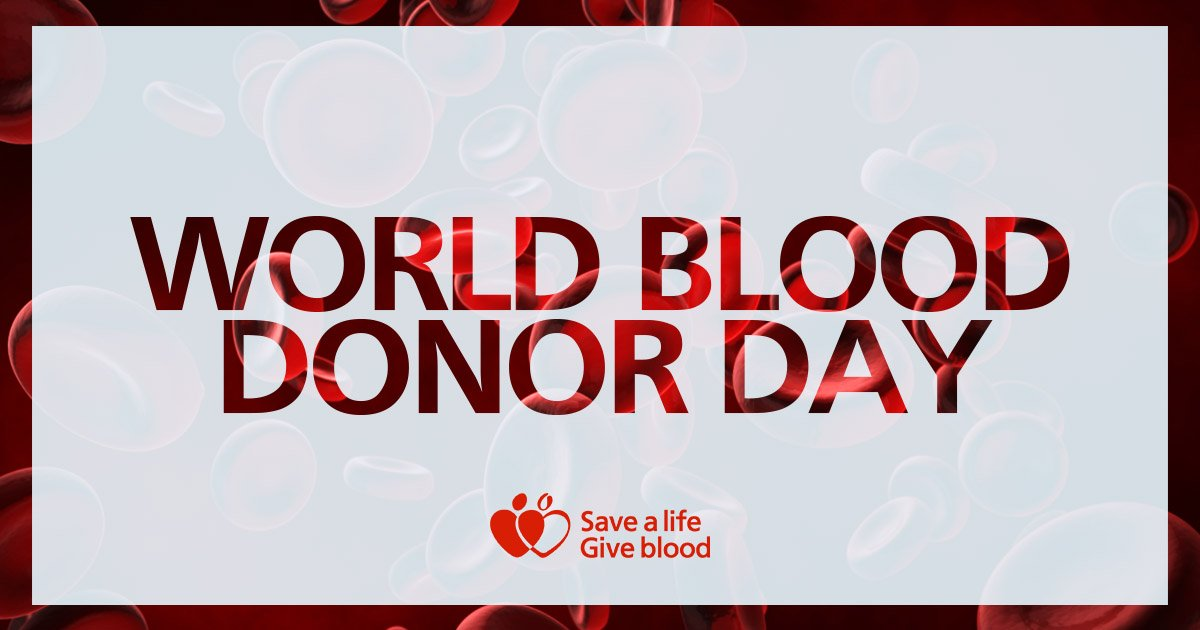 Happy #WorldBloodDonorDay! 🌍💉 Thank you to the amazing donor heroes saving lives all over the world. ❤️