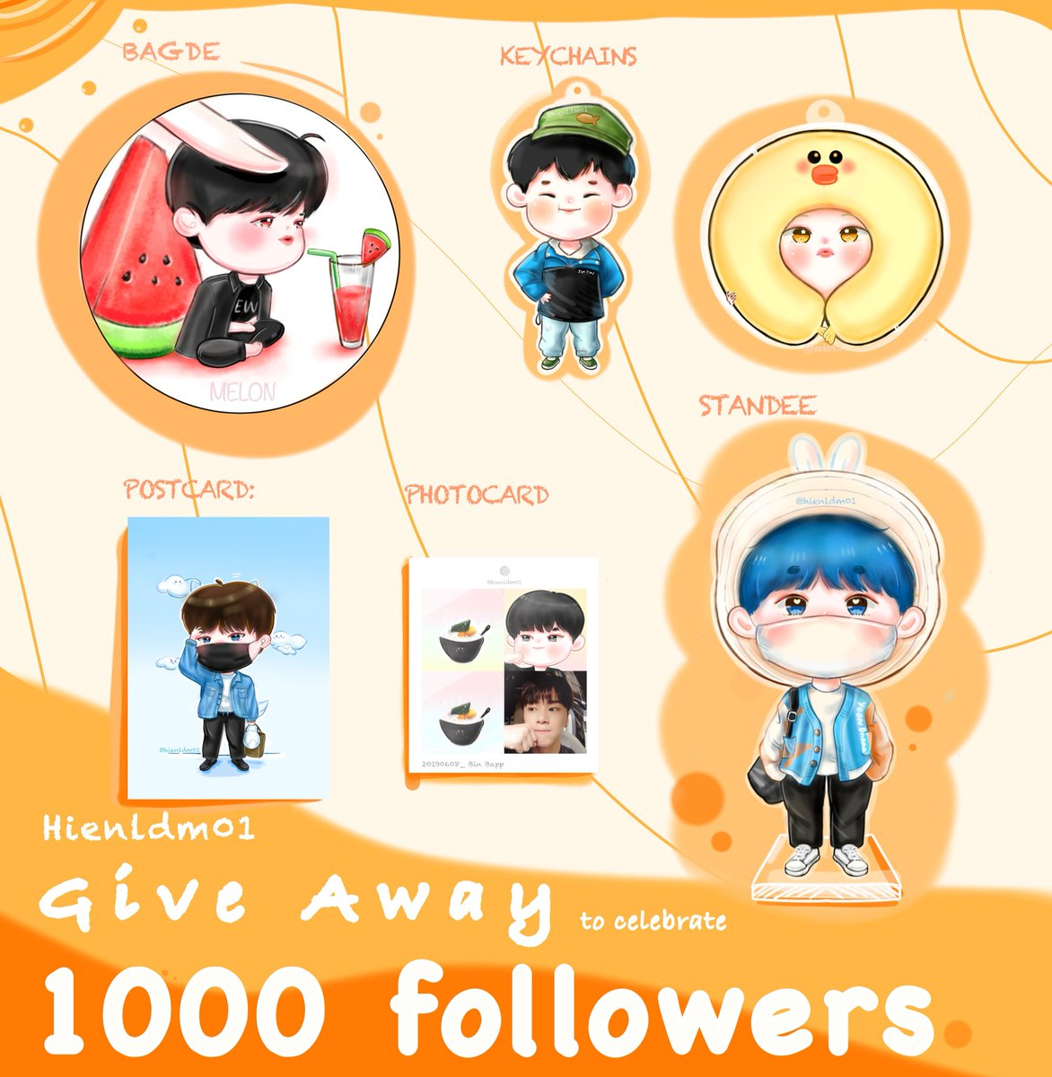 1000 FOLLOWER SPECIAL GIVEAWAY Thank you for supporting me, Aroha is a great motivation for me. I will give gifts based on lottery results 1 Winners!  Rules -just RETWEET & LIKE* *Results will be announced on July 7* THANK YOU SO MUCH #hienldm01GA<br>http://pic.twitter.com/xYhRt5HITb