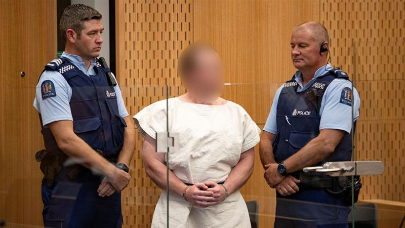 Accused New Zealand mosque shooter pleads not guilty  https:// aje.io/xqdac      #Christchurch <br>http://pic.twitter.com/LGHKhax1eD