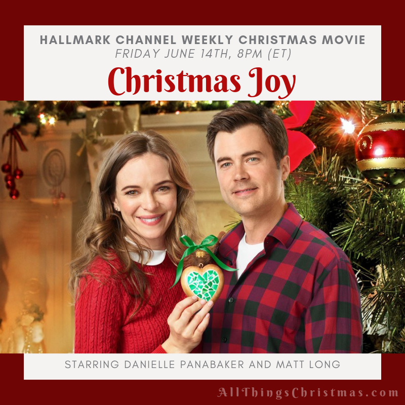 TONIGHT on Hallmark - Christmas Joy! This is one that will be replaying during Christmas in July as well - get your full schedule for all Christmas Movies on June & July here: http://www.allthingschristmas.com/tag/hallmark   #hallmarkies #hallmarkchristmas #christmasinjuly