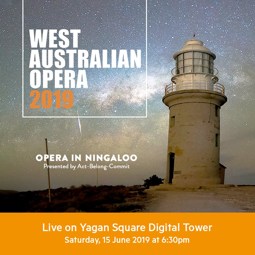 We're teaming up with @WAOpera to livestream @minderoo's Opera in Ningaloo! 📽️🎶🌃  Head down to #YaganSquare at 6:30pm this Saturday for a magical night of opera on the digital tower live from the Gascoyne!   More info ℹ️ http://ow.ly/zrPe50uDMwm  @VitalPerth