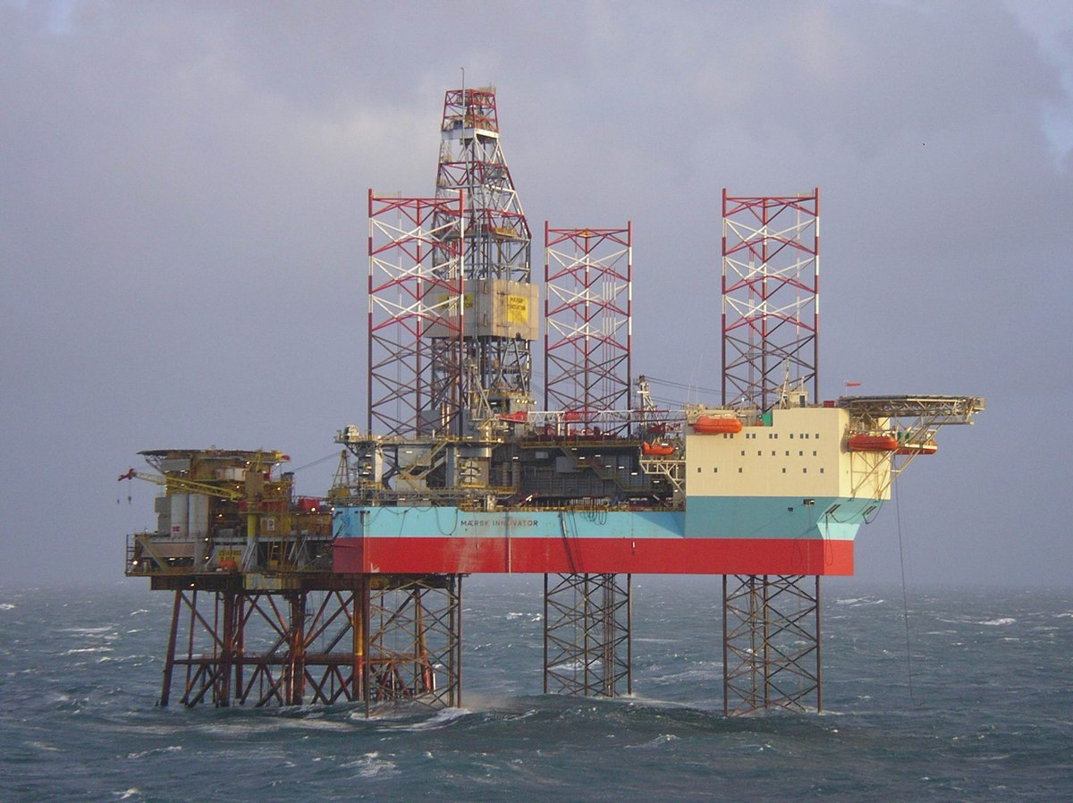 Great news! Our #MærskInnovator has been awarded a 100-day extension for CNOOC. #OurPeople will continue #drilling infill wells at the Buzzard #oilfield on the UK Continental Shelf. Curious to know more? https://maerskd.co/Innovator #SmarterDrilling #MaerskDrilling