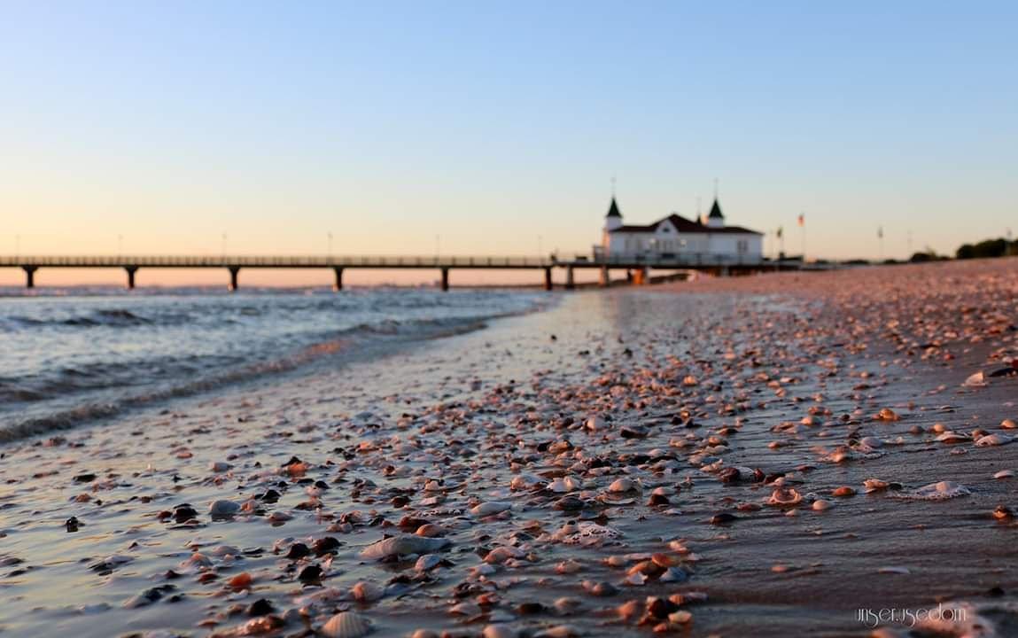 Guten Morgen Aus Dem Seebad Ahlbeck Usedom Ostsee