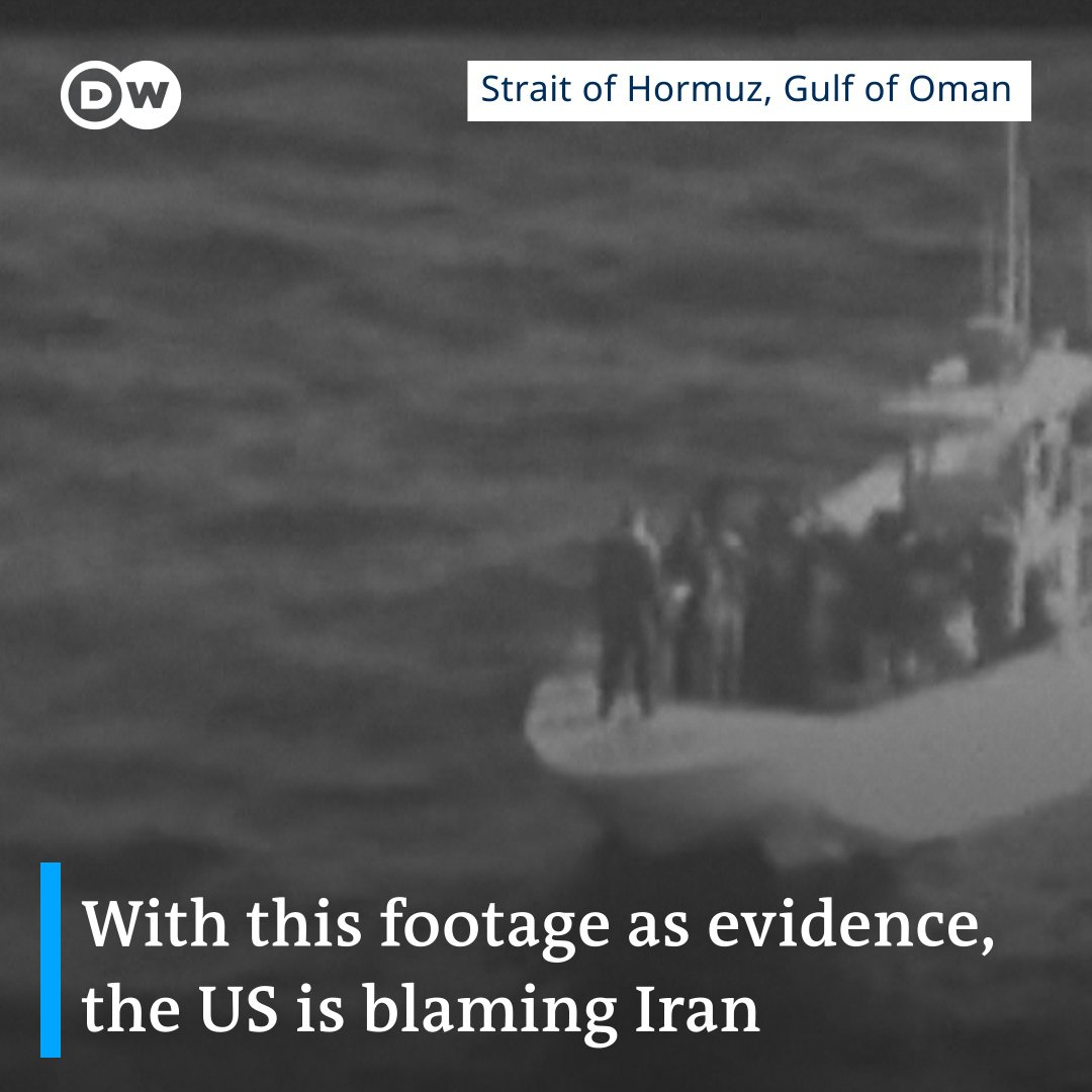 "Chancellor Angela Merkel has said there is ""strong evidence"" Iran carried out attacks on two tankers in the Gulf of Oman."