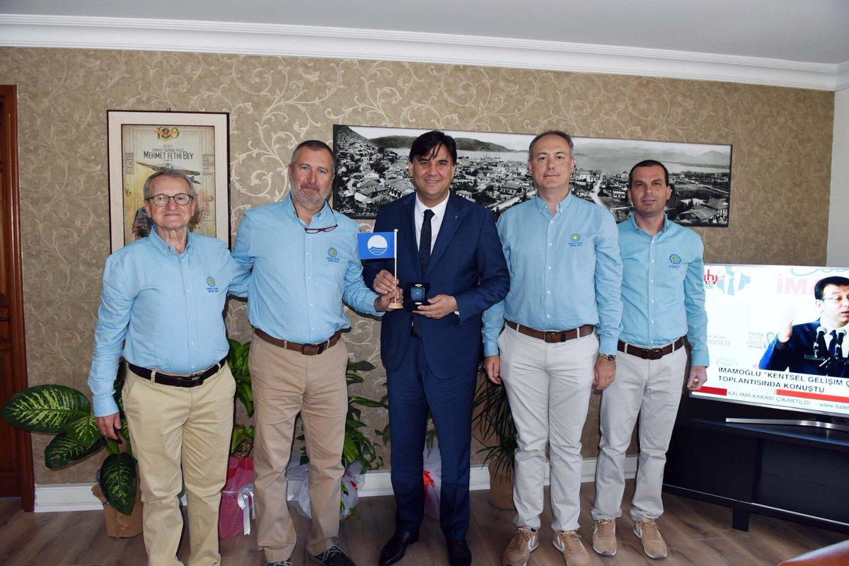 TÜRÇEV Yönetim Kurulu Başkanı Rıza Tevfik Epikmen ve Yönetim Kurulu Üyeleri ile Belediyemizi ziyaret ettiler. Kendilerine teşekkür ediyorum. pic.twitter.com/63Mj6SJusk