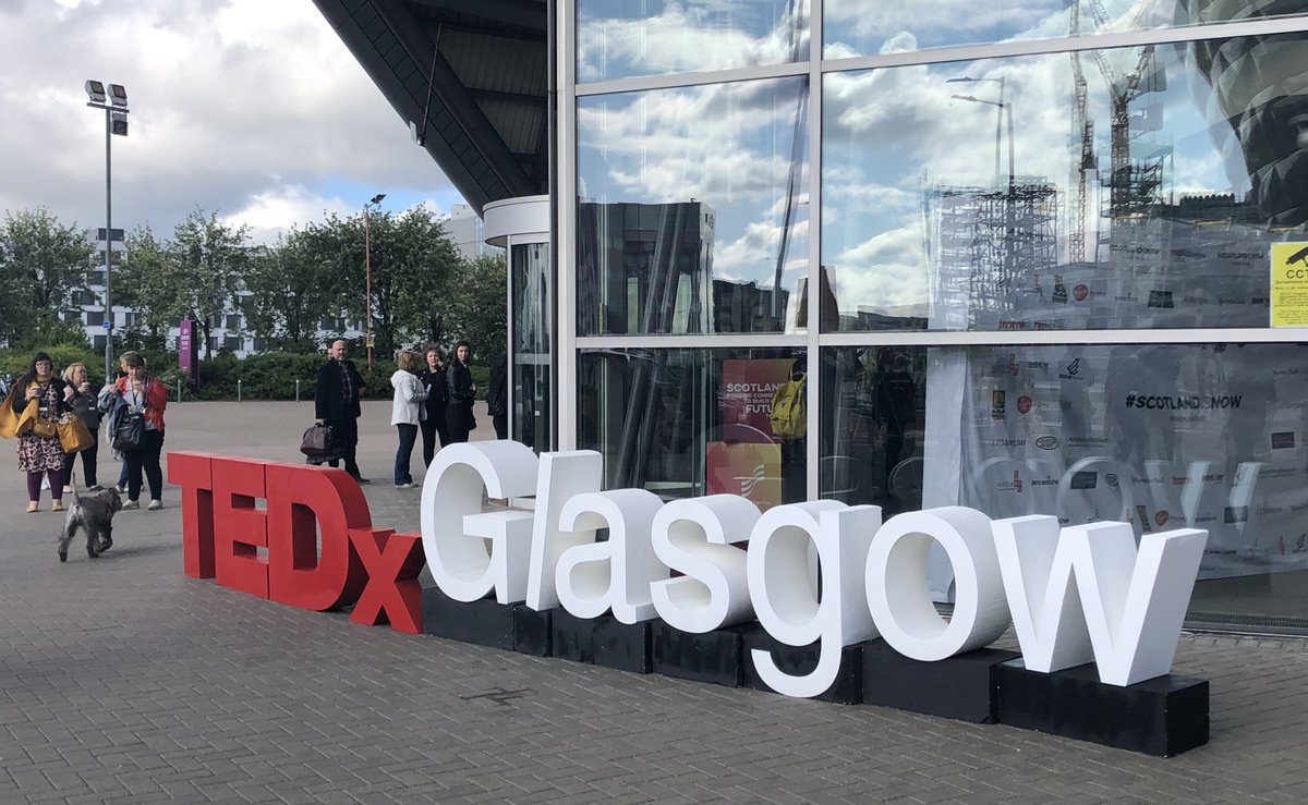 Excited to be partnering with #TEDxGla2019 today for a day of discussion and connection <br>http://pic.twitter.com/pnq1RvVplB