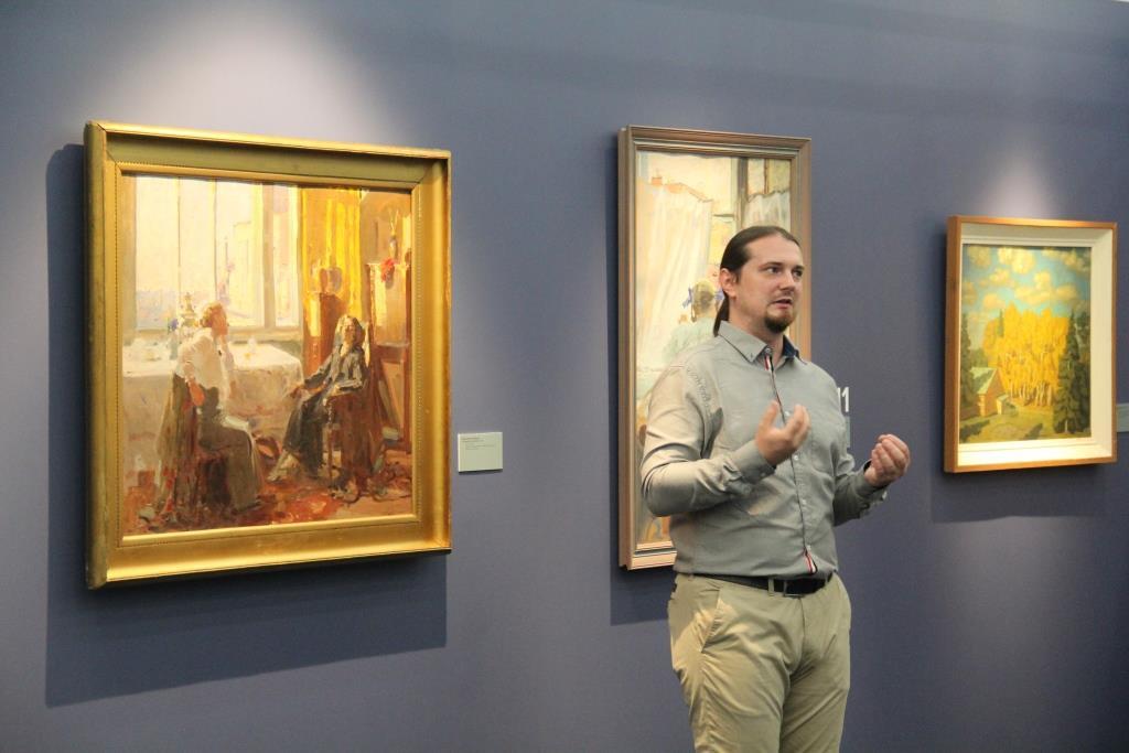 Открытки с музеем крамского