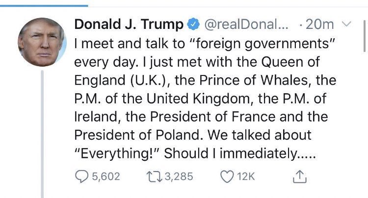 I thought this tweet might disappear so I'm glad some of us saved it!  My response:  Prince of Whales? Perhaps he is confused with le dauphin?  #CymruAmByth  #PrinceOfWhales <br>http://pic.twitter.com/SWzJqIrFuh