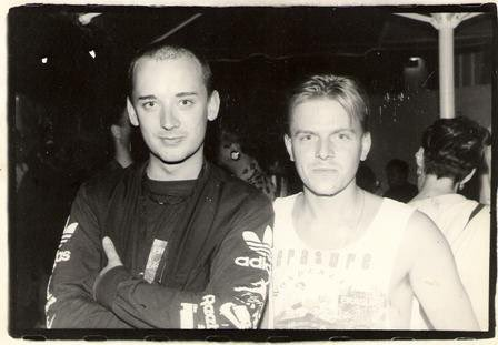 Happy Birthday to Boy George! Pic from backstage Bowl Erasure gig!