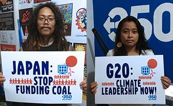 Send us your photos! 📸 Leaders from the world's 20 biggest economies will tackle the most pressing issues facing the global economy at the G20 Summit in Japan. We are challenging Japan to show climate leadership. Forms here --> http://bit.ly/31ypdXe @350EastAsia