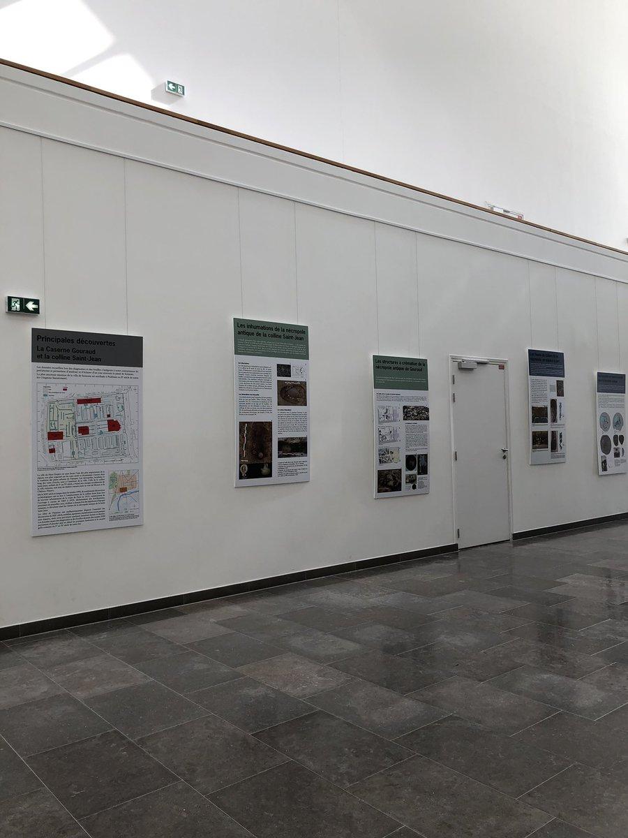 L'exposition sur les fouilles... (ouverture dans une nouvelle fenêtre)