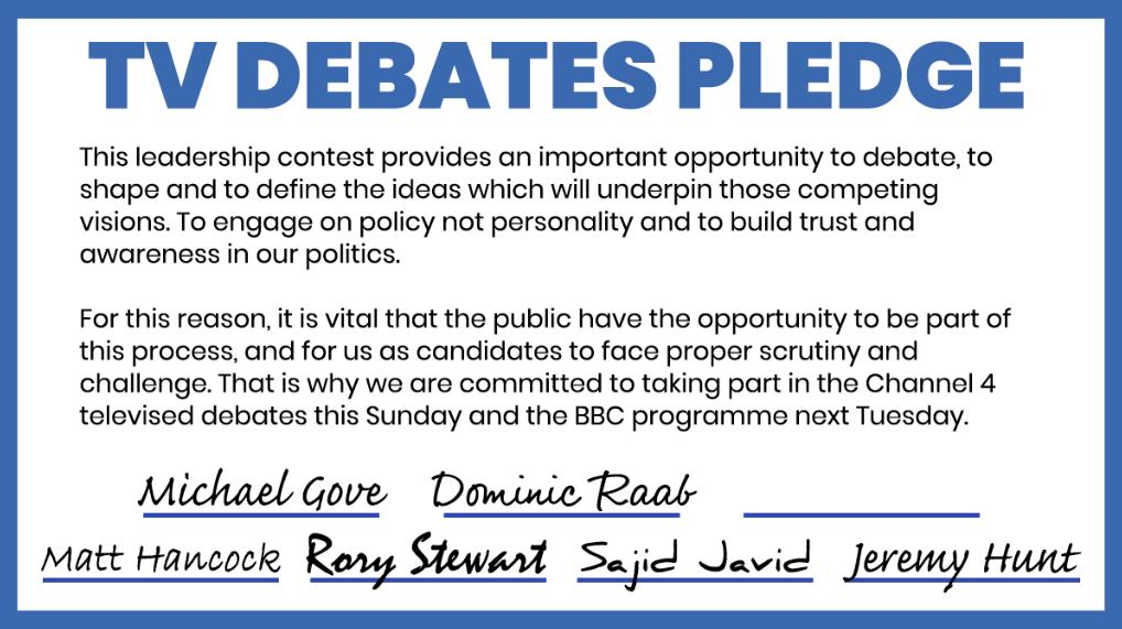 After the er, ill-fated clean campaign pledge... to be fair this is pretty funny from team Raab
