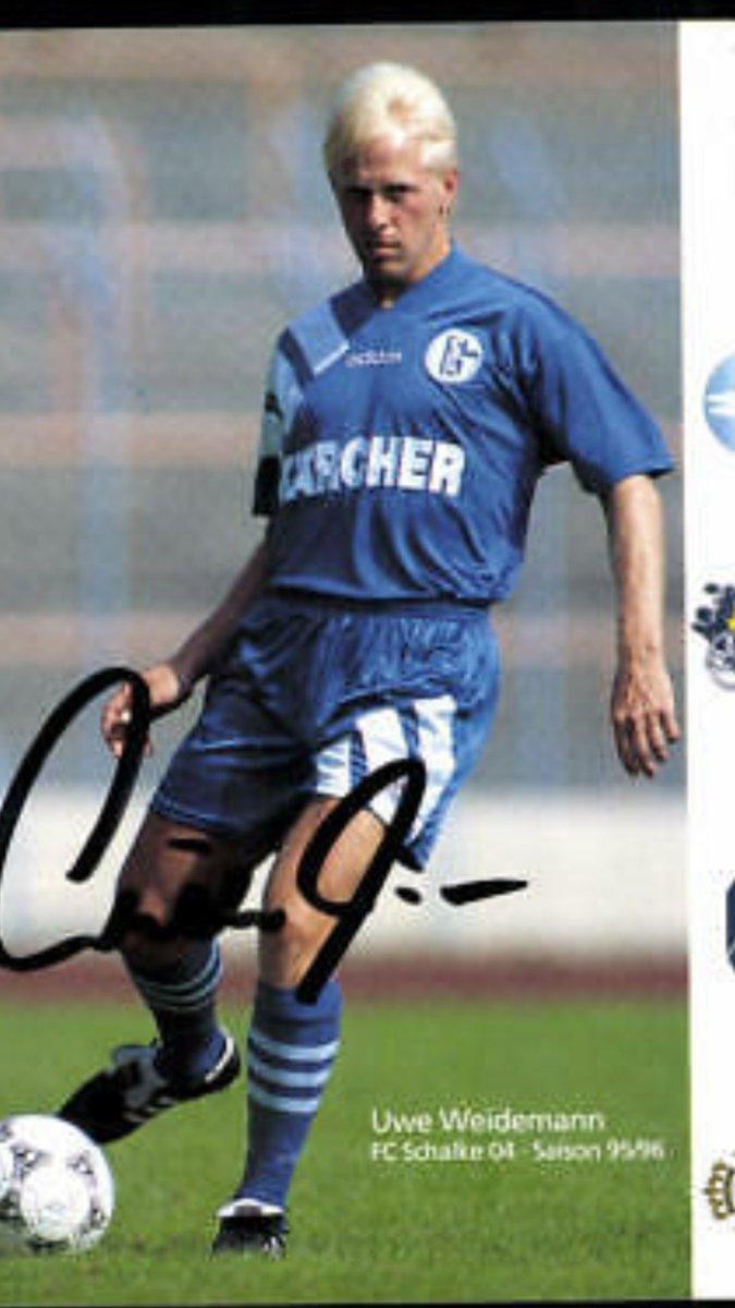 Ein Schalker Hat Geburtstag Uwe Weidemann Herzlichen Glückwunsch