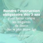 Image for the Tweet beginning: La loi #EcoleDeLaConfiance a été