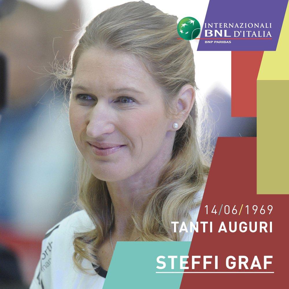 🏆 Campionessa #WTA indiscussa, nella sua carriera ha conquistato ben 22 Slam in singolare e 4 in doppio...   🎂 Buon compleanno Steffy #Graf! 🎂  #ibi19 #tennis