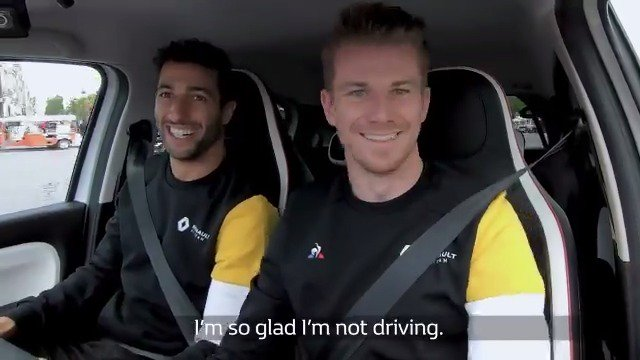It's time to find out how @HulkHulkenberg and @danielricciardo did in their race against the clock in Paris... Who won?!👇  #RSspirit @lecoqsportif @BellRossWatches @RenaultSport