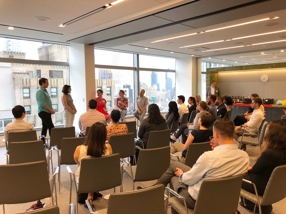 Here at Schroders we are committed to supporting our LGBT+ employees and building a strong allies network. To kick off #PrideMonth, we held an improv show Laugh Til' You're an Ally, featuring performers from the Upright Citizens Brigade #SchrodersPride