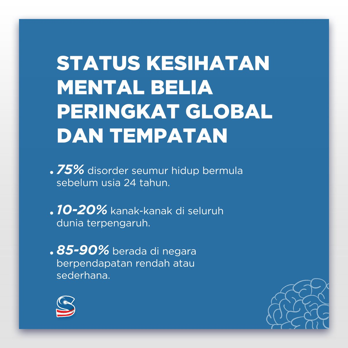 RT teamsaddiq: KESIHATAN MENTAL? APA? BAGAIMANA?   Ikuti thread ini untuk maklumat lebih lanjut.  1. Status Kesihatan Mental Belia Peringkat Global dan Tempatan  #areyouokay #LetsTalk