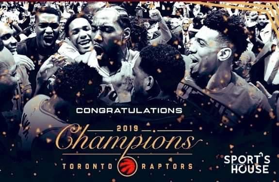 Alors les fans des #Raptors, ça fait quoi dêtre les nouveaux champions #NBA ? #Game6