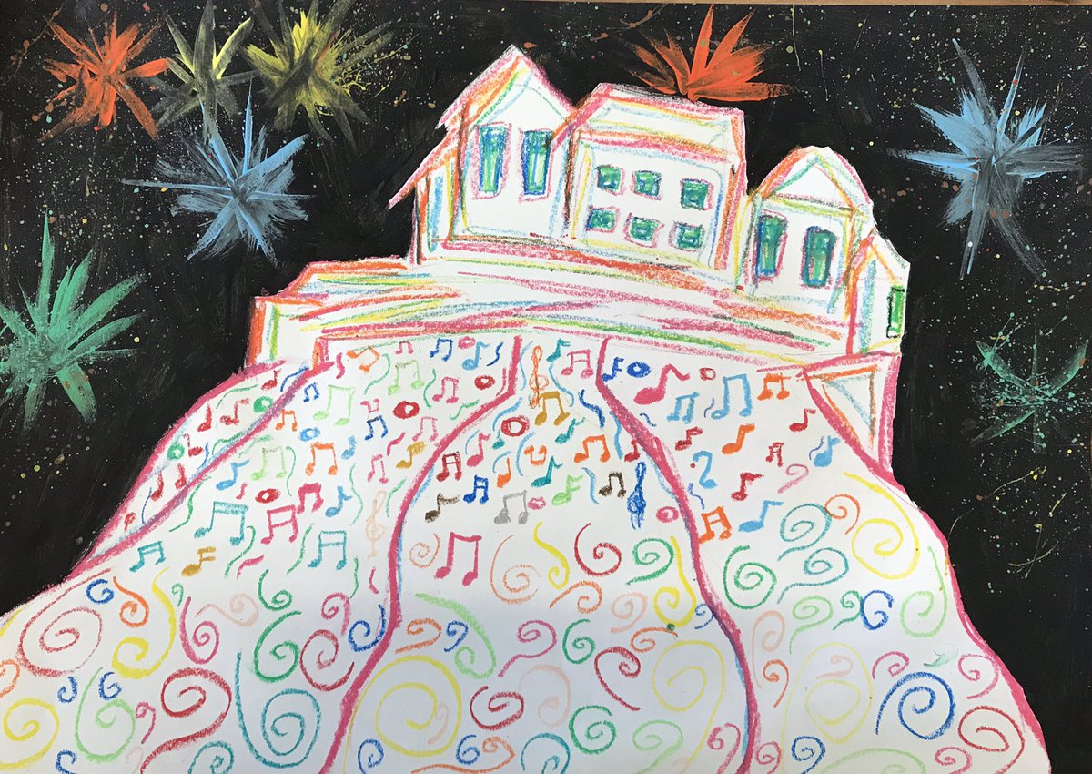 Congratulations to Amelia, p7 and Kenishka, p3 whose work has been shortlisted in the Virgin Money Festival Fireworks Poster Competition! Delighted to have 2 pupils in the final 10! The 3 overall winners will be announced at a ceremony on 25th June! @VirginMoney @forthone<br>http://pic.twitter.com/KewXmcUEG6