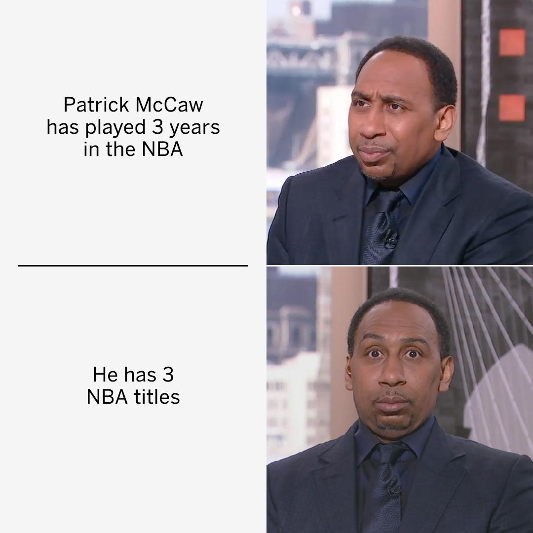 Patrick McCaw is a legend 💍💍💍  #NBAFinals