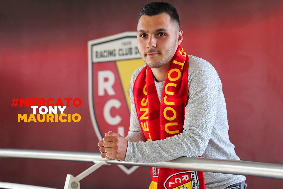 Tony Mauricio rejoint le RC Lens