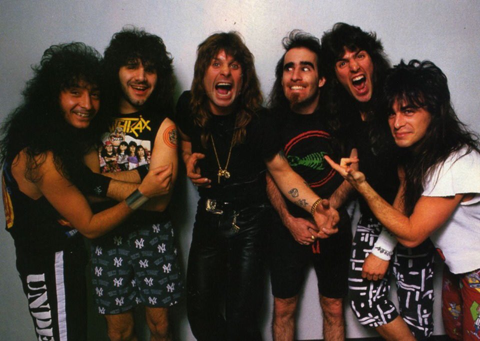 with @Anthrax #fbf
