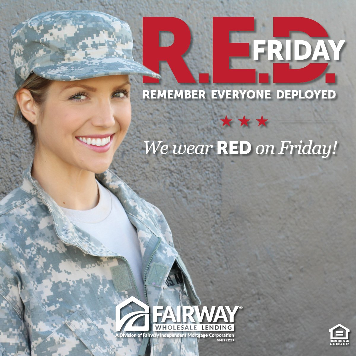 Today marks the 244th birthday of the United States Army! Which makes this #REDFriday even more special. Thank you to everyone serving and happy birthday to the U.S. ARMY! #FairwayWholesaleLending<br>http://pic.twitter.com/vHKCIGkp0Y