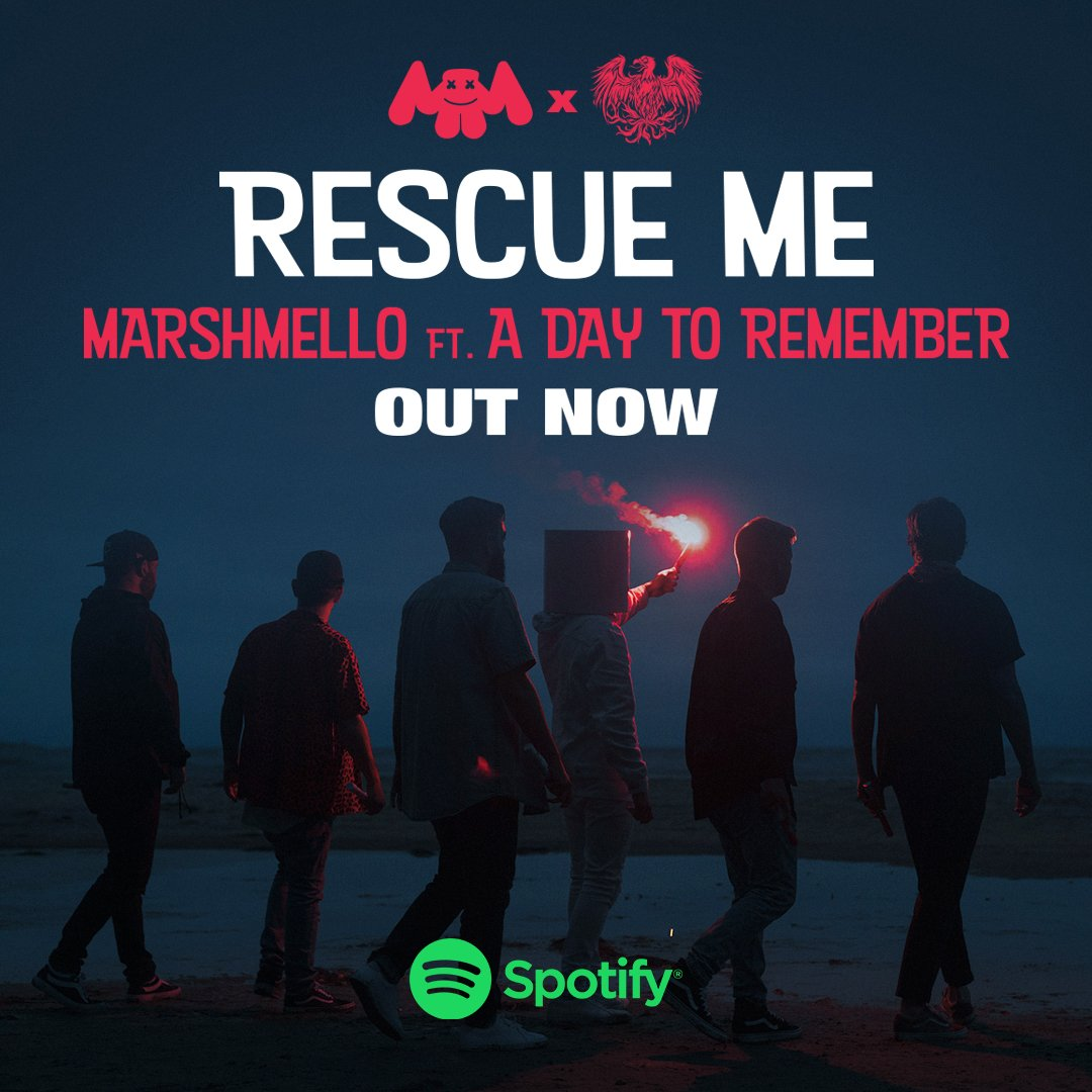 """Marshmello - """"Rescue Me"""" Ft  A Day To Remember - SOUND IN"""
