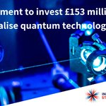 Image for the Tweet beginning: New #quantumtechnologies have the potential