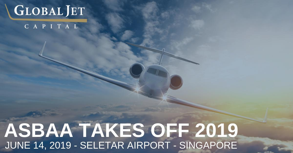 @AsianBAAs #AsBAATakesOff 2019 took place today at the Seletar Airport in Singapore. Global Jet Capital was proud to show our support at this all-new event. #bizav #businessaviation