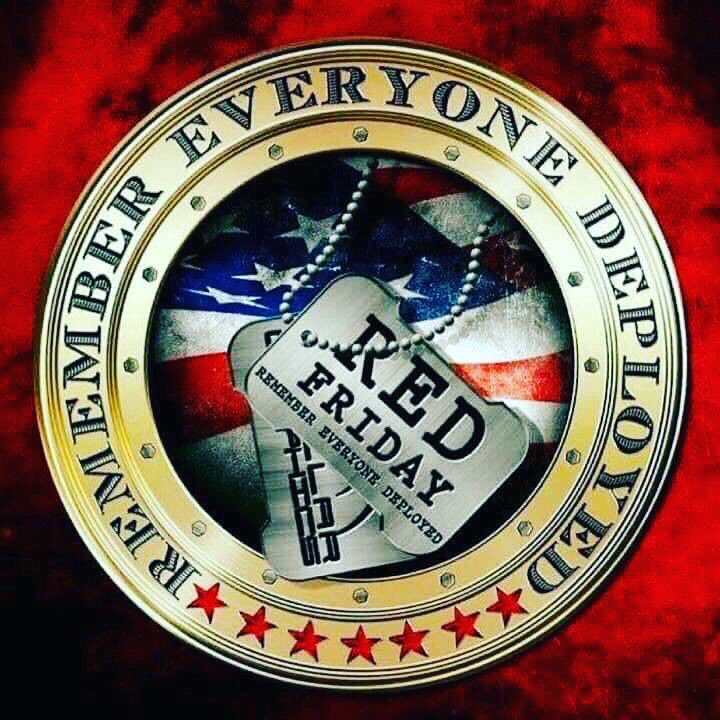 Remember Everyone Deployed Freedom Isn't Free  #DisciplineEqualsFreedom #REDFRIDAY #FlagDay <br>http://pic.twitter.com/wTBzdUGZsL