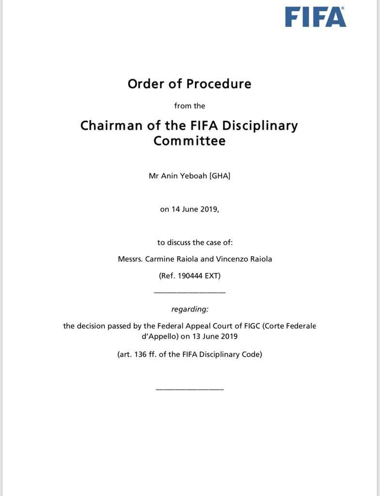 Suspension Annuled. Justice! @footballagentsf https://t.co/bOErnYNNB2