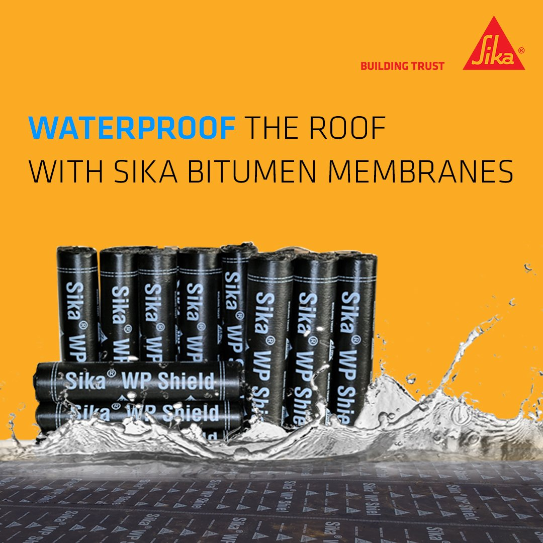 Sika WP® Shield gives excellent strength, elasticity &