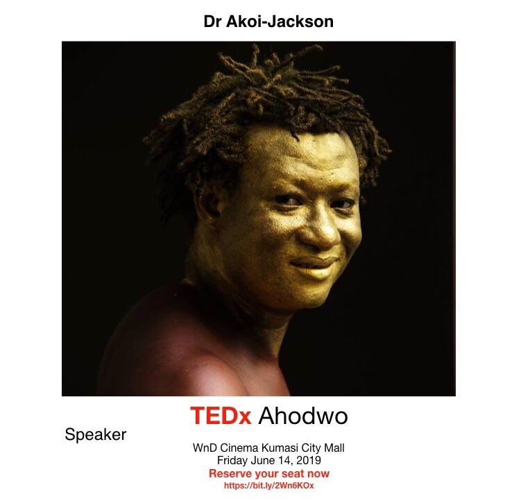 Attending my first TED talk today excited 🔥🔥