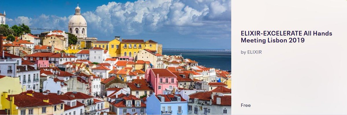 Let's connect at the ELIXIR All Hands in Lisbon next week!         @ELIXIREurope @ISBSIB
