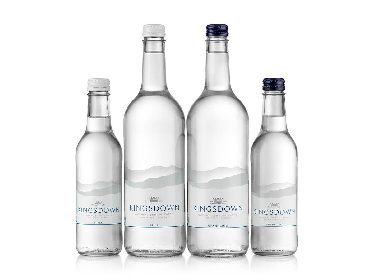 Leading premium glass bottled spring water available in the UK & available through @cambridgejuice @kingsdownwater is available in elegant 750ml & 330ml glass bottles, still & sparkling.#water #premium #functions #carbonneutral #glass #carbonfootprint #British #Kent
