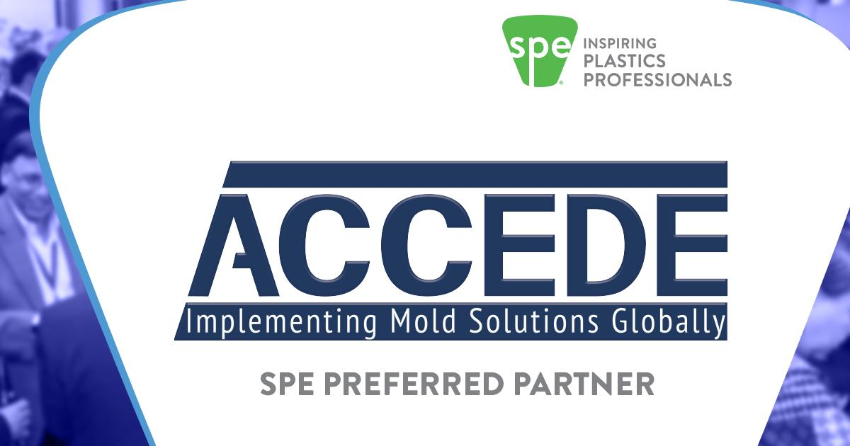 Proud to be a preferred partner of @4SPE_Plastics. Looking forward to exhibiting at ANTEC® 2020, March 30-April 2, 2020. Hope to see you there! #ManufacturingMatters #AccedeAdvantage https://t.co/ryKnf21d5T