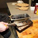 New meat going into the Buddy 48? Make sure to add fresh wood chips!  #Smoker #Chicken #CommercialBBQ #BBQSmokers #Restaurants #CommercialKitchens #BBQRestaurants #ChickenThighs #GarlicAndHerb